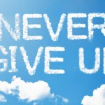 Never Give Up Clouds